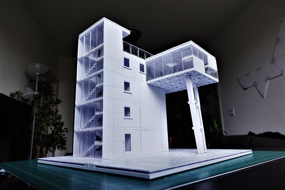 """The Tower House"" Case Study - RikySongSu 2018"