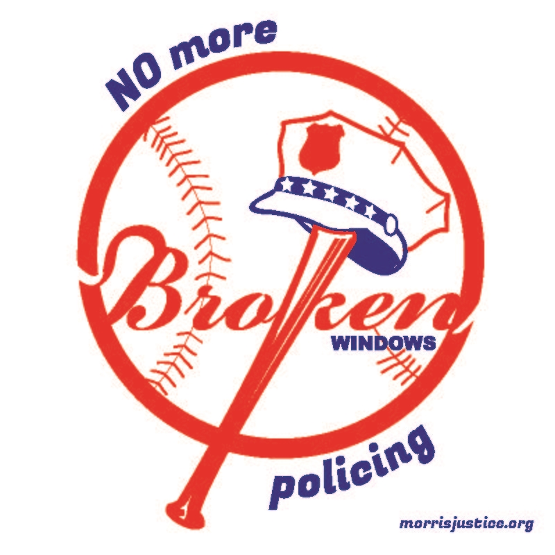 A sticker distributed at sidewalk science actions and Yankees games (the stadium borders the research area).