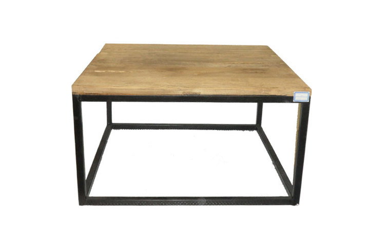 Industrial Coffee Table Square