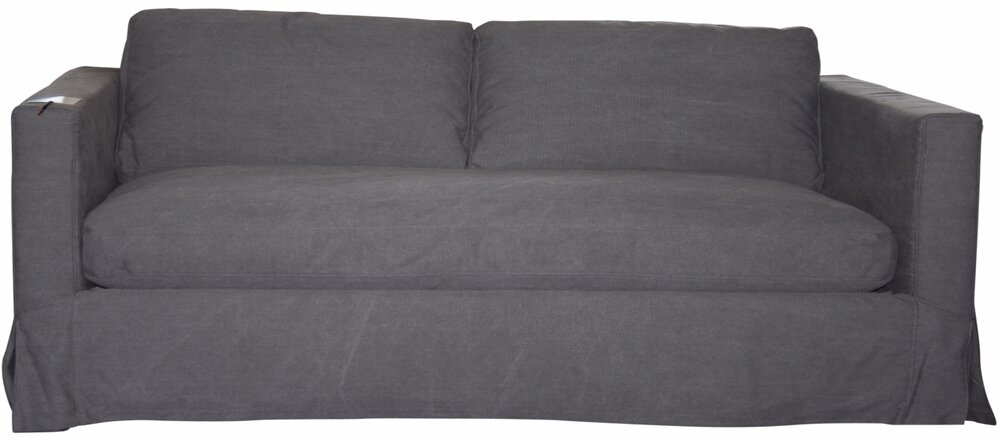 Kelly Sofa   3 Seater Charcoal