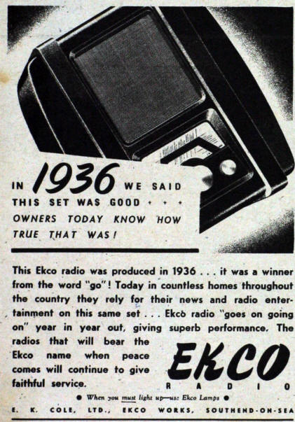 History  Since 1922  From the first wireless in 1922 to our latest CD player & DAC.