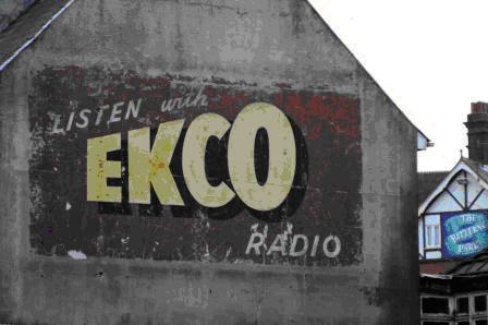 1945  EKCO Malmesbury Factory Logo.