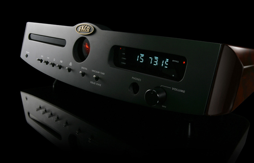Part of EKCO's current product line up, the EV55DP CD player, DAC & Preamp with valve output stage.