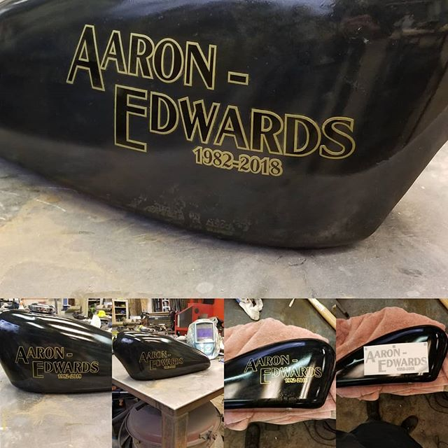 The urn is complete and ready to receive his remains. It is with great sadness that I created such a thing for someone so young. Aaron was a great human being and even better friend. He will be greatly missed. God speed brother.