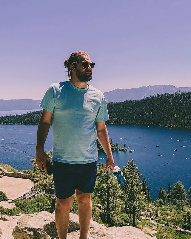 Lake Tahoe is the place to be. Check out my story for more. 📷: @chelsea.burgoyne