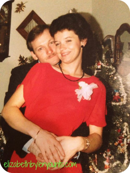 My parents maybe 20 or so years ago. Isn't my mom beautiful!