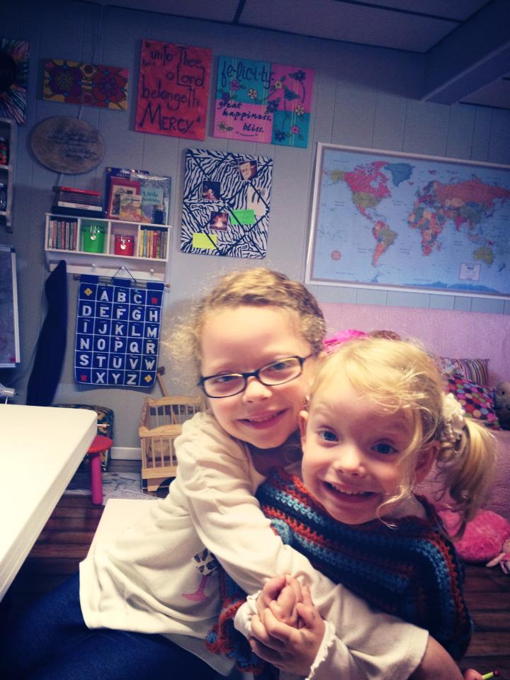 Freedom to customize the education for these two sweethearts = pure joy
