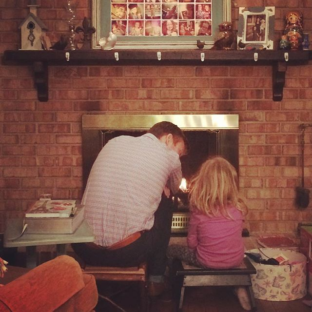 Sweet daddy & daughter chat. #hernamemeansreward #hisnamemeansbeloved #daddydaughtertime