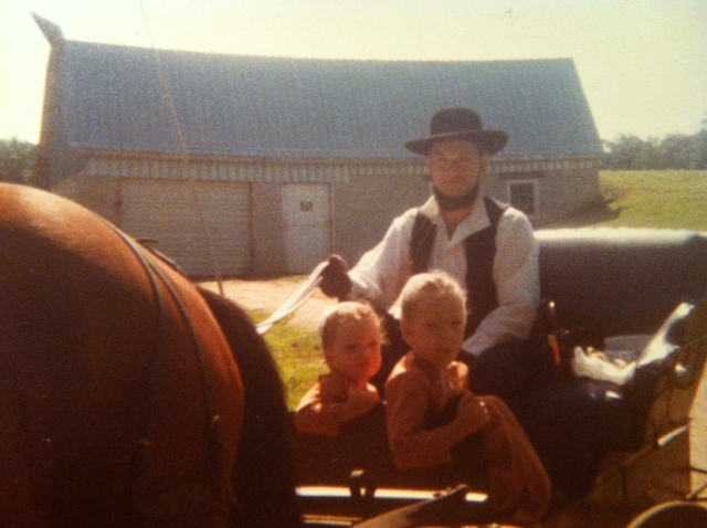 Beautiful first memories in the first chapter of my Amish life.