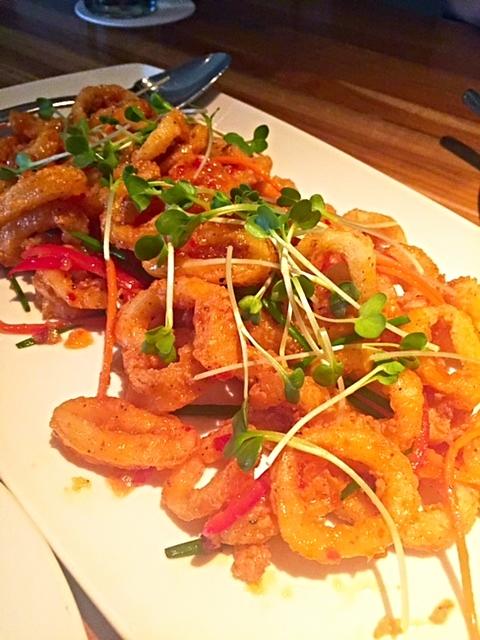 Crispy Calamari with Sweet Thai Chili Sauce