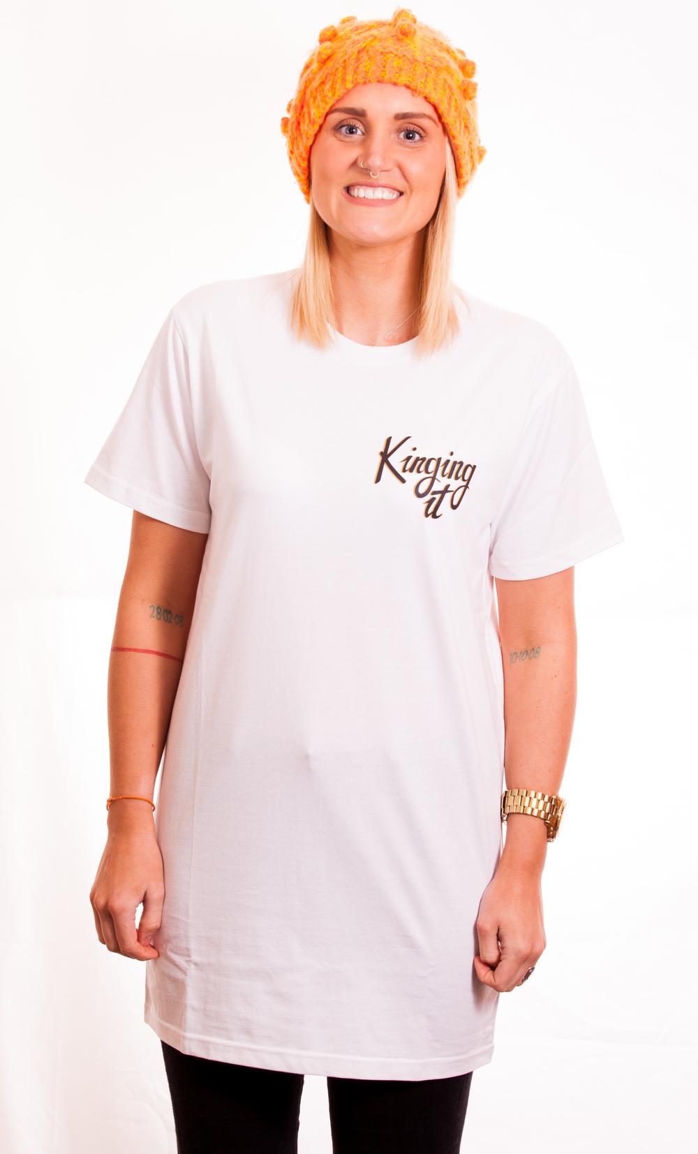 T shirt design queenstown -  These Kids Wear Crowns Tall T Shirt White Unisex
