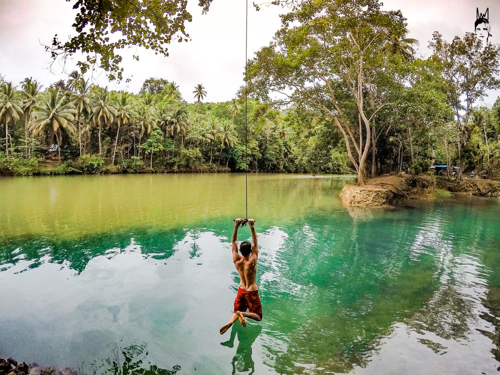 The Rope swing spot!