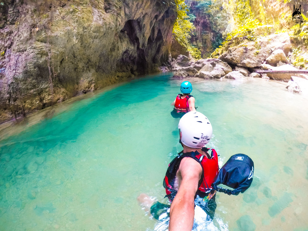 Canyoneering in Cebu