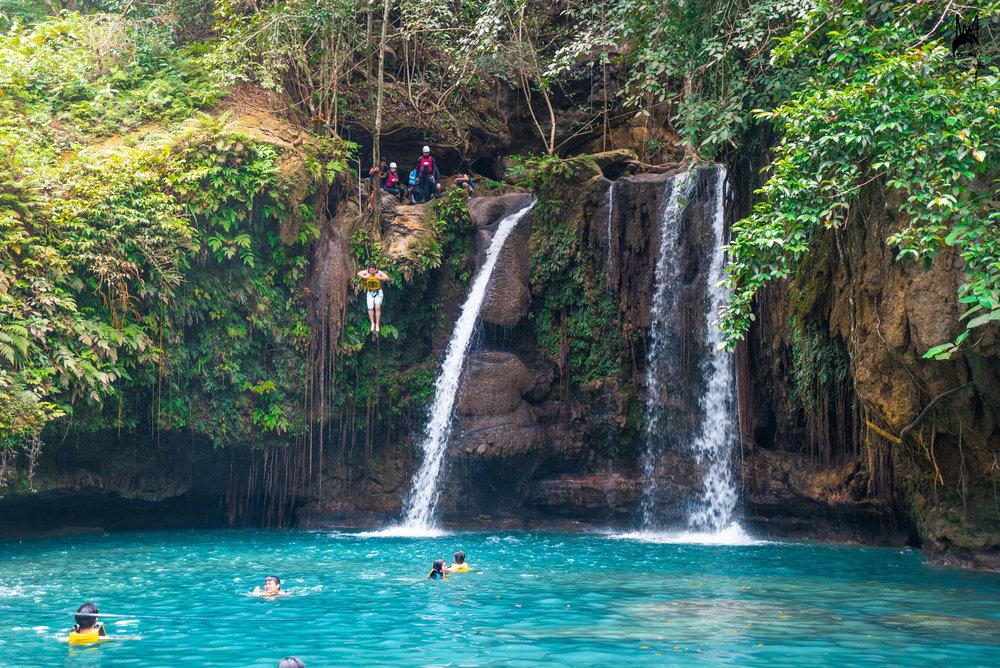 Canyoneering Kawasan Falls