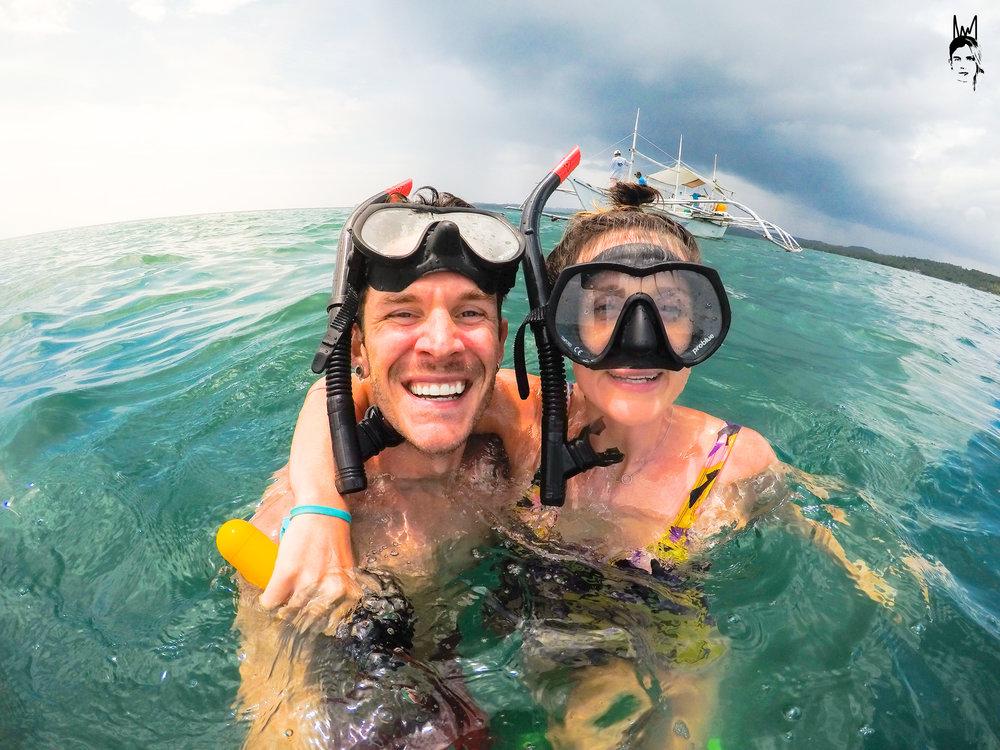 Happiest kids in the ocean!