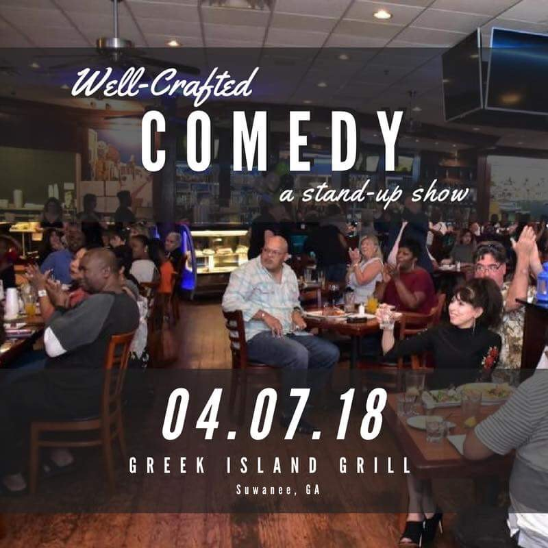 Well-Crafted Comedy at Greek Island Grill