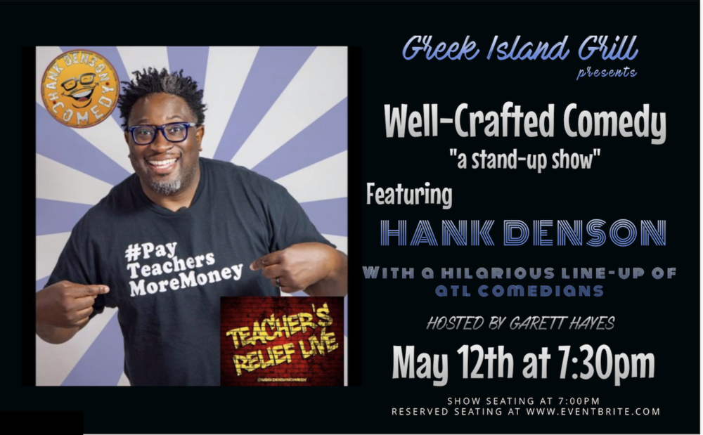 Well-Crafted Comedy at Greek Island Grill Featuring Hank Denson.png