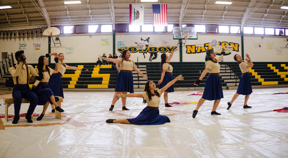 Color Guard Competition