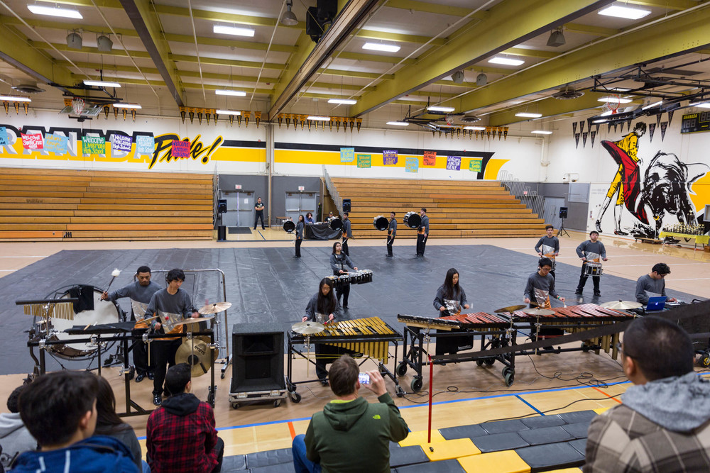Burton High School Band   Puma Percussion Ensemble    Learn More