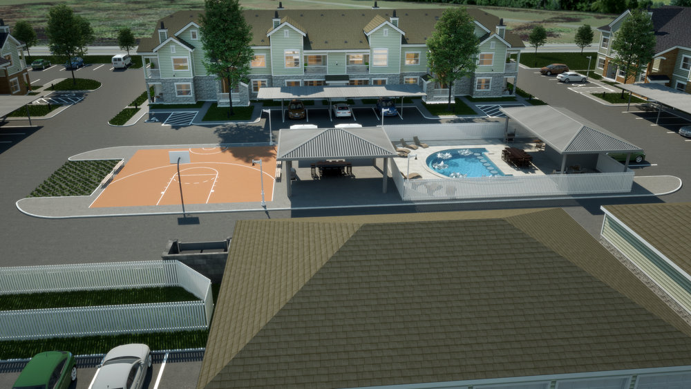 South Site Amenities - 48 Apartment Homes