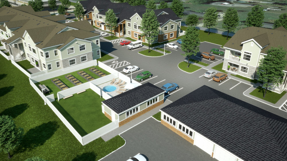 North Site Amenities - 40 Apartment Homes