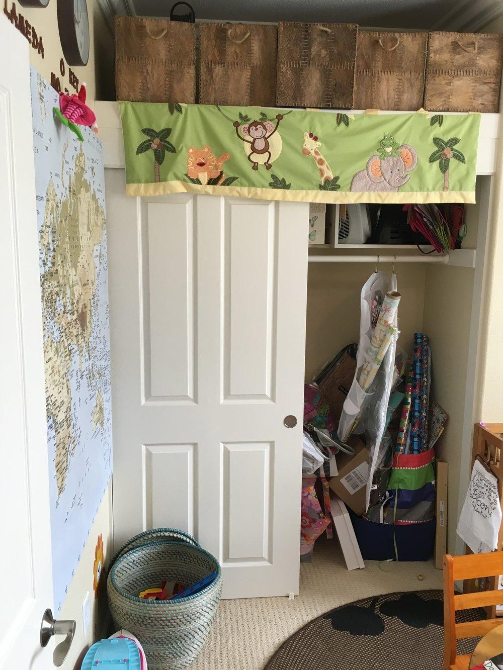 BEFORE: Closet