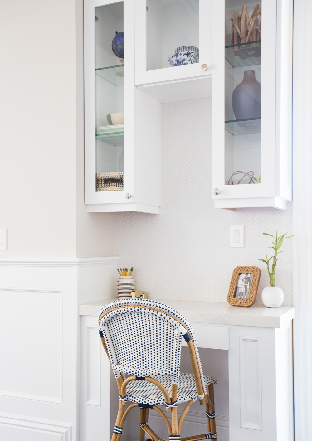 Studio McGee - Palisades Kitchen Work Nook