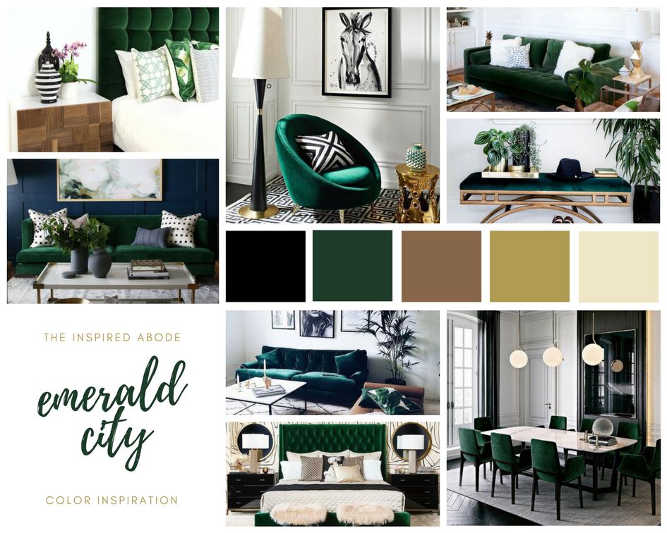 Emerald City Home Decor Inspiration