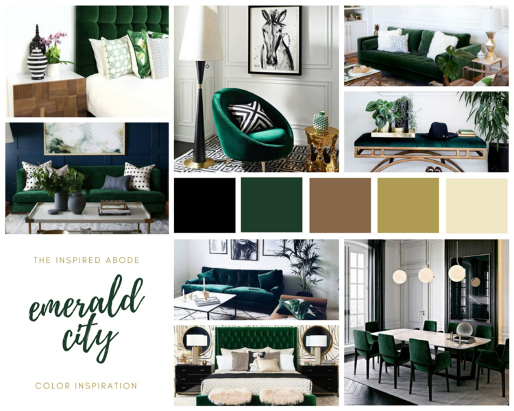 EMERALD CITY HOME DECOR INSPIRATION The Inspired Abode