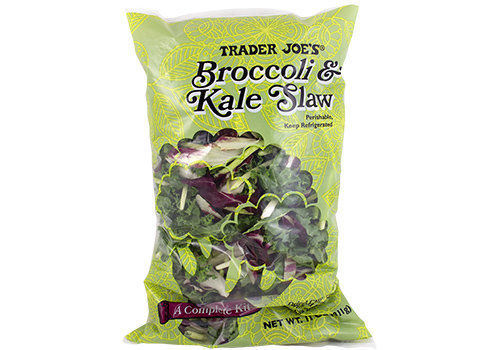 Broccoli and Kale Slaw from Trader Joe's