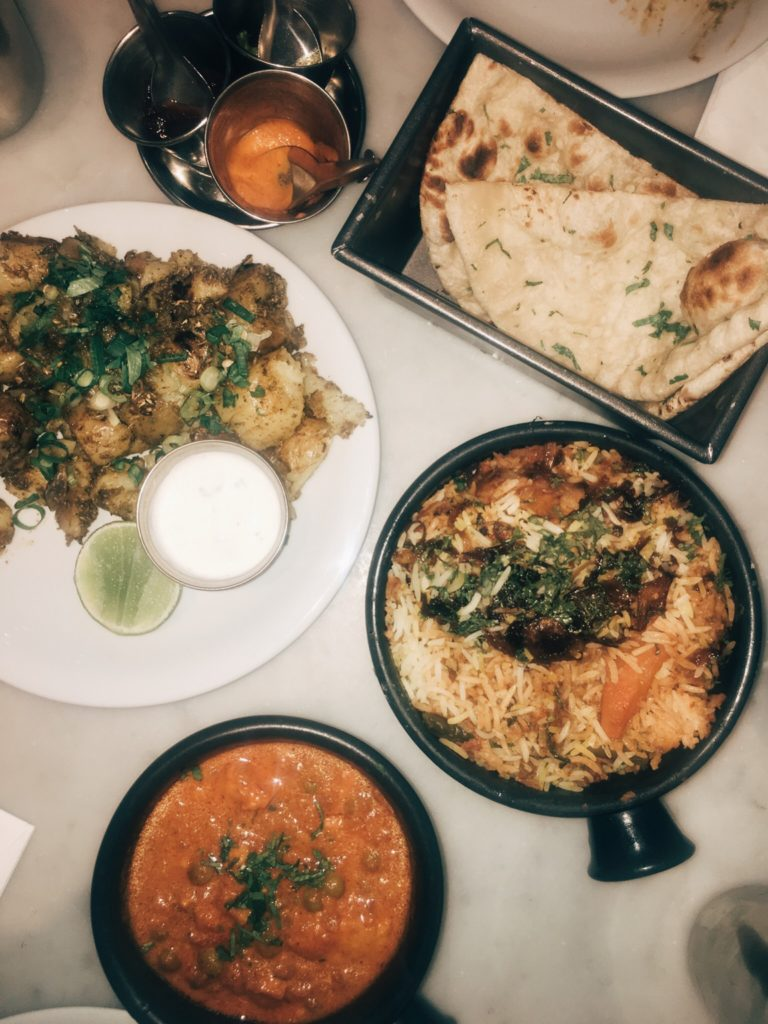 Excellent Indian cuisine in Covent Garden, London