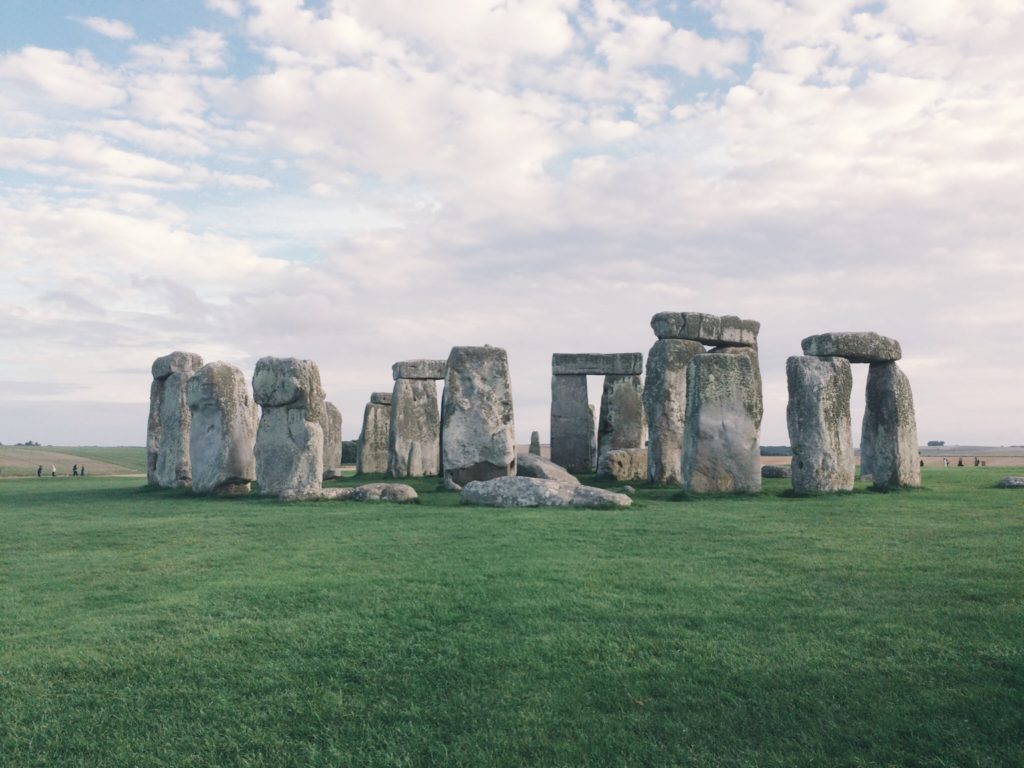 Famous and mysterious stones outside of London