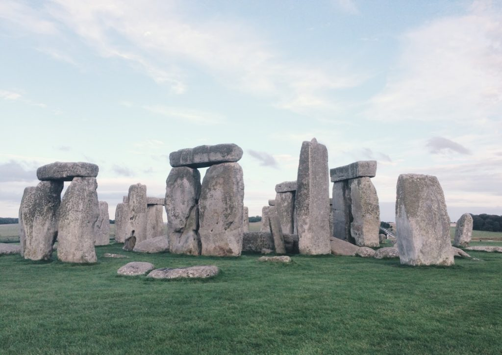 Mysterious rocks and stones in England