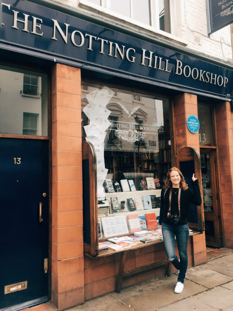 Book shop where Hugh Grant met Julia Roberts in Notting Hill
