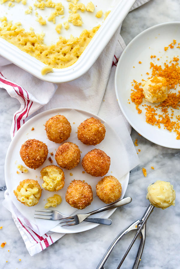 Deep fried mac and cheese balls game day recipe ideas