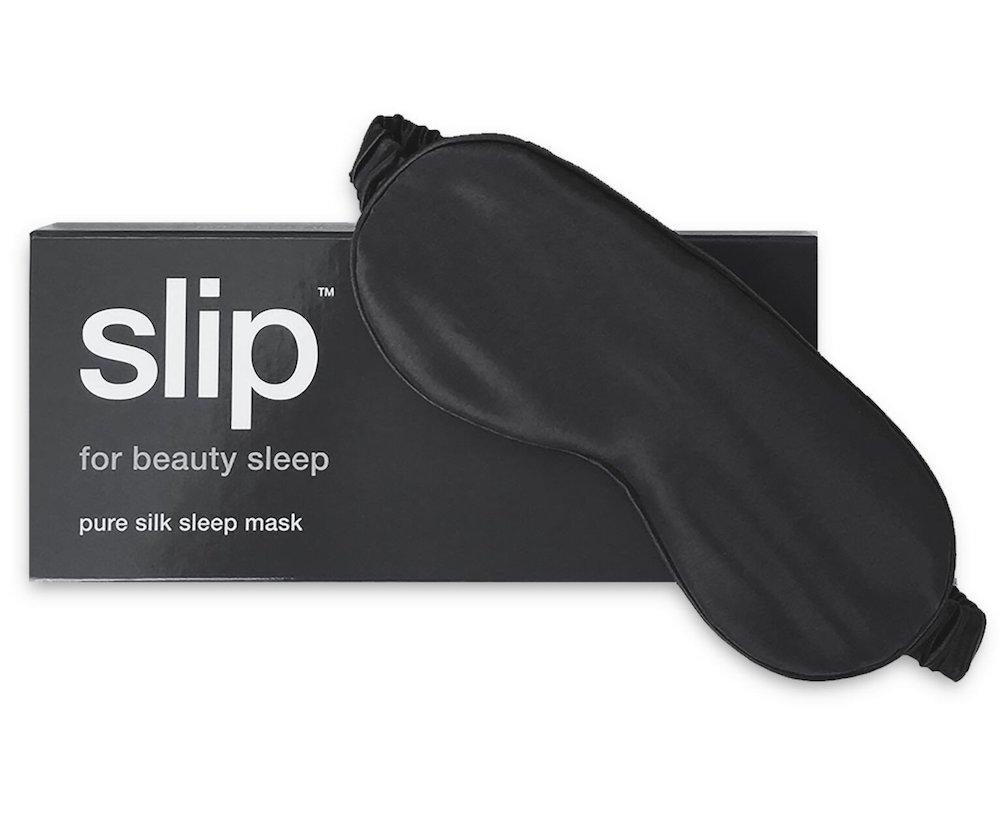 Silk black eye cover for sleep