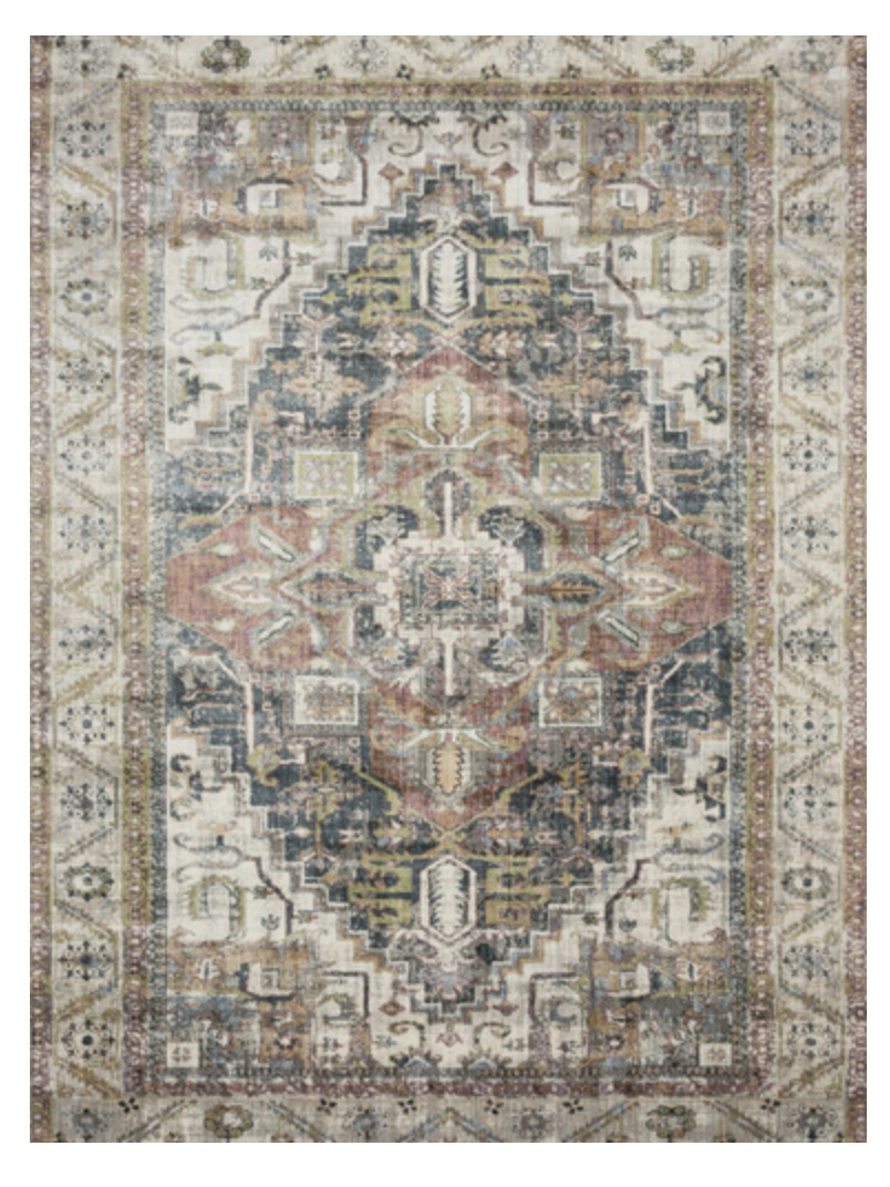Kenley Rug from The Inspired Abode's favorites for the Lulu & Georgia big rug sale BIGDEAL for 20% off + Rug Size Guide