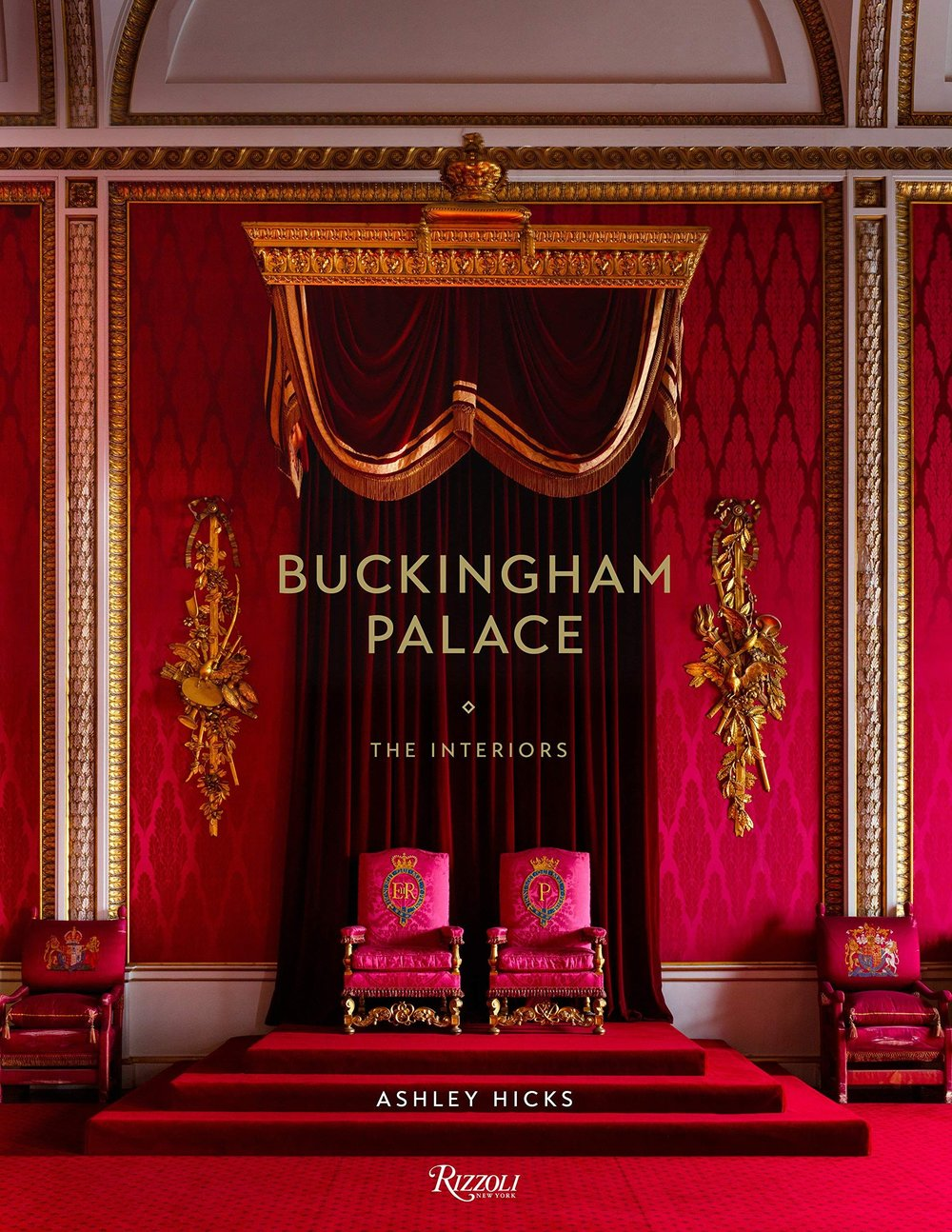 Buckingham Palace: The Interiors by Ashley Hicks coffee table book ideas