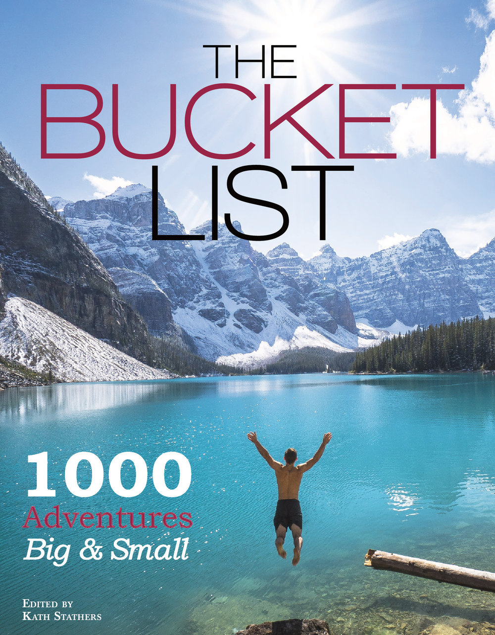 The Bucket List by Kath Stathers coffee table book ideas