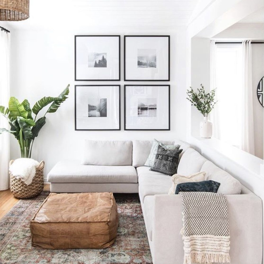 Get The Look Transitional Modern Living Room The Inspired
