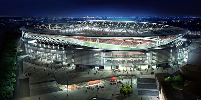 The Emirates Stadium - The Home of Arsenal FC