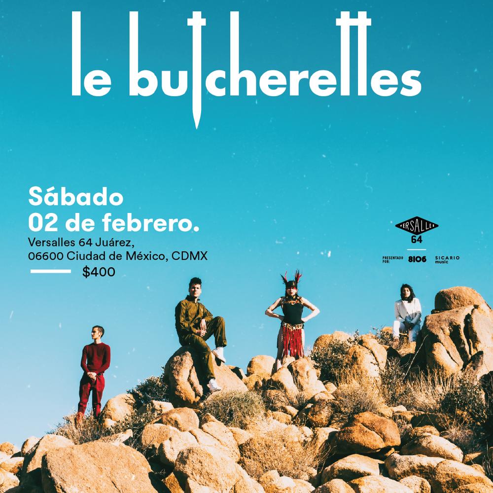le  butcherettes_feb2_Poster_Square_1080x1080.png