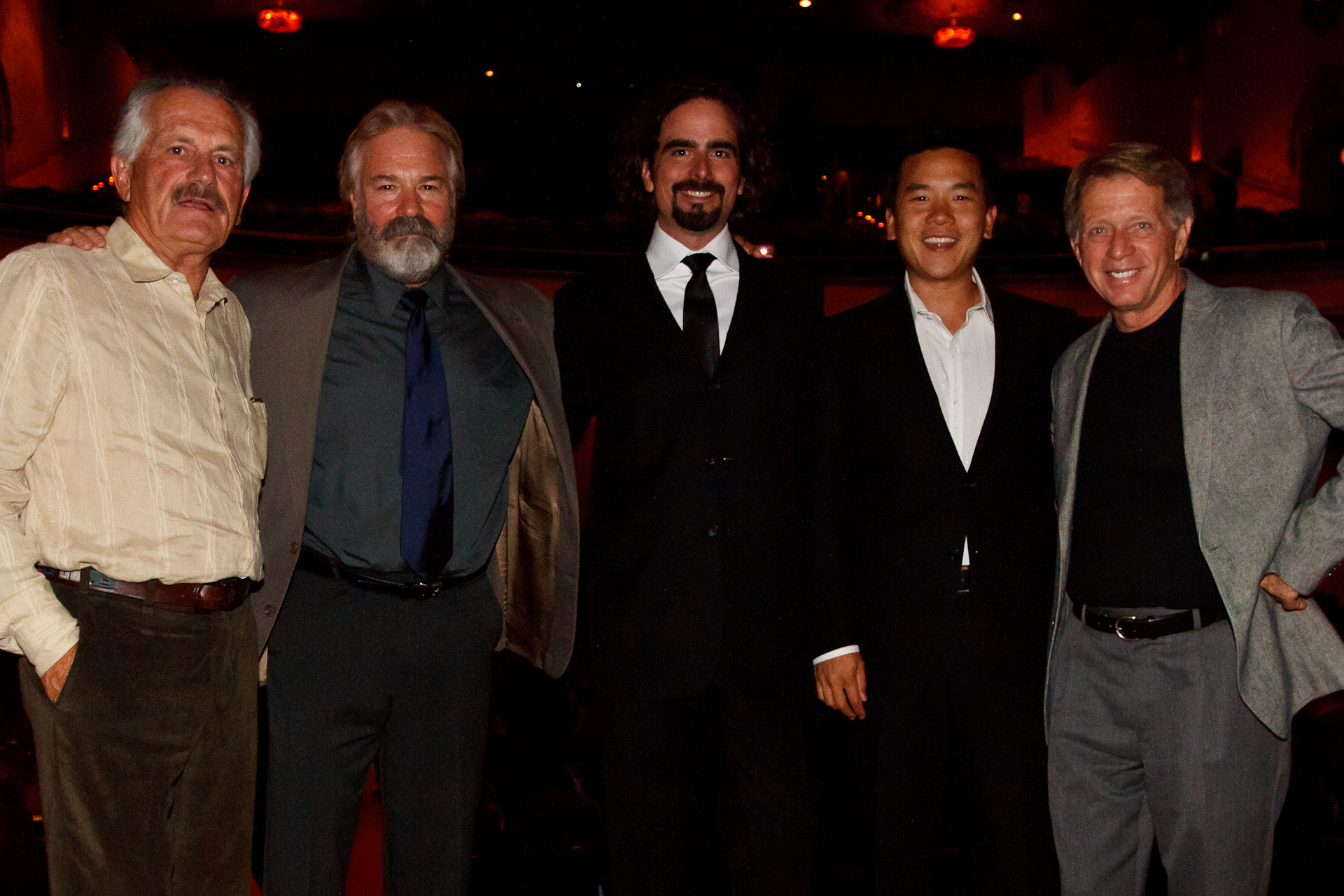 Speakers: Rick Rosenthal, Chuck Davis, Berkley White, Eric Cheng and Stephen Frink. Monterey Underwater Film Festival, September 10, 2011.