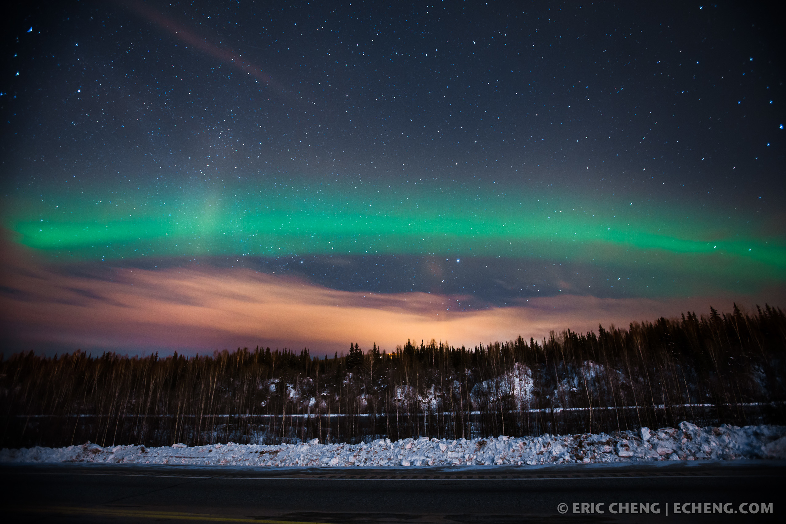 graphing the Northern Lights in Fairbanks Night 1 Eric Cheng