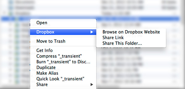 """Share Link"" and ""Share This Folder"" are very different"