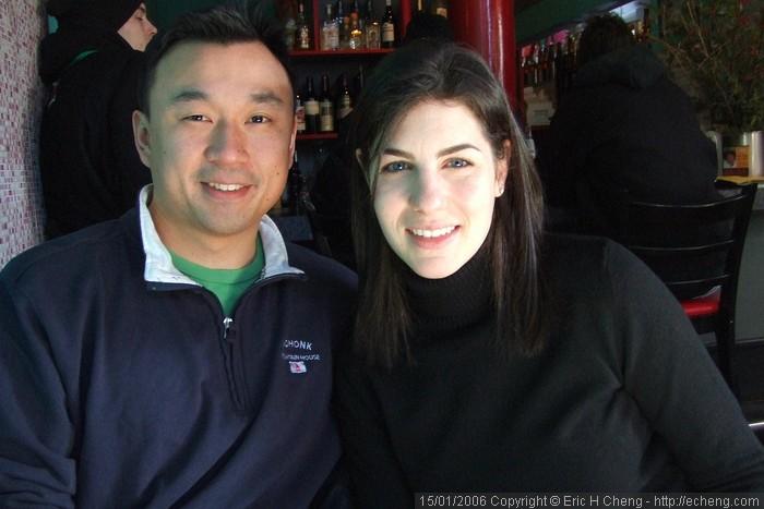 Joe and Rachel