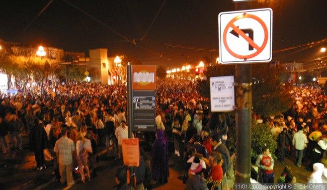 Halloween in the Castro