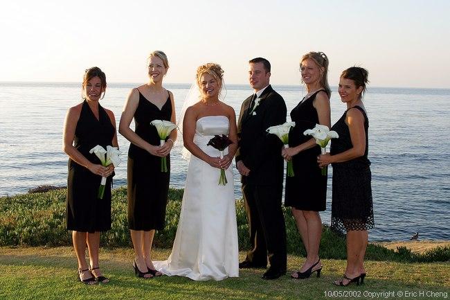 Bridesmaids + Man