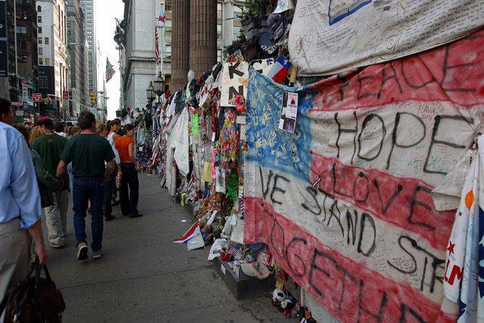 WTC Memorial Wall (Broadway)