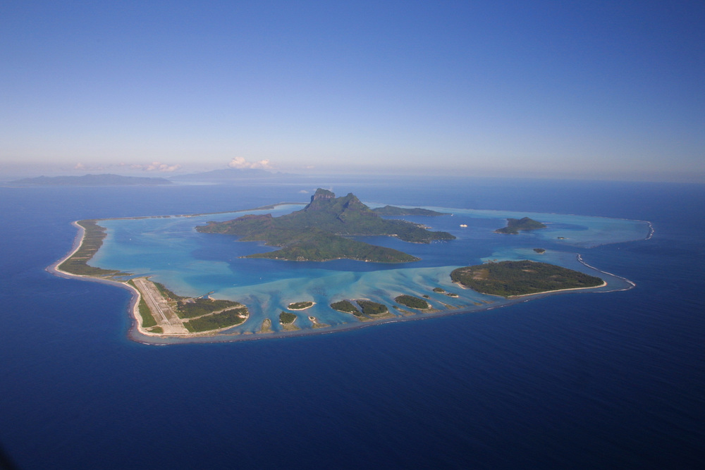 Bora Bora: what a gorgeous atoll